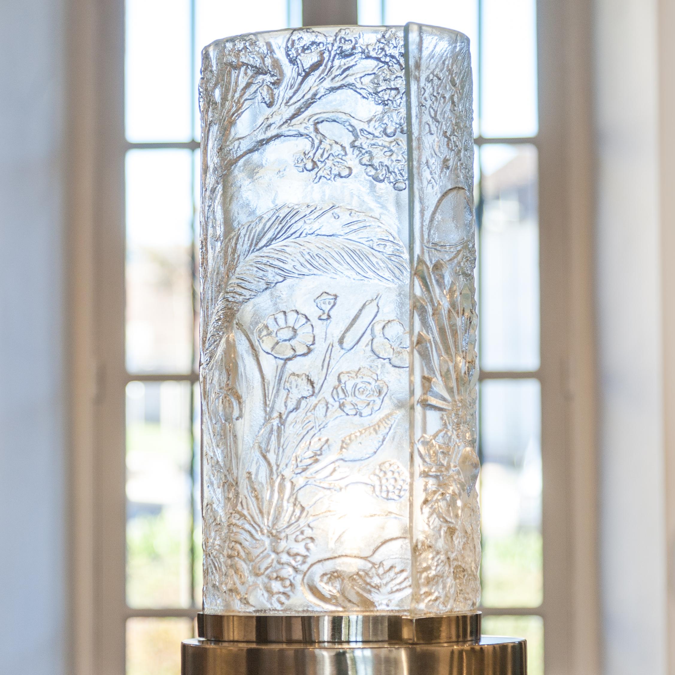 Lampe Trois règnes - Règne végétal - par Arthylé by Natacha MONDON & Eric PIERRE