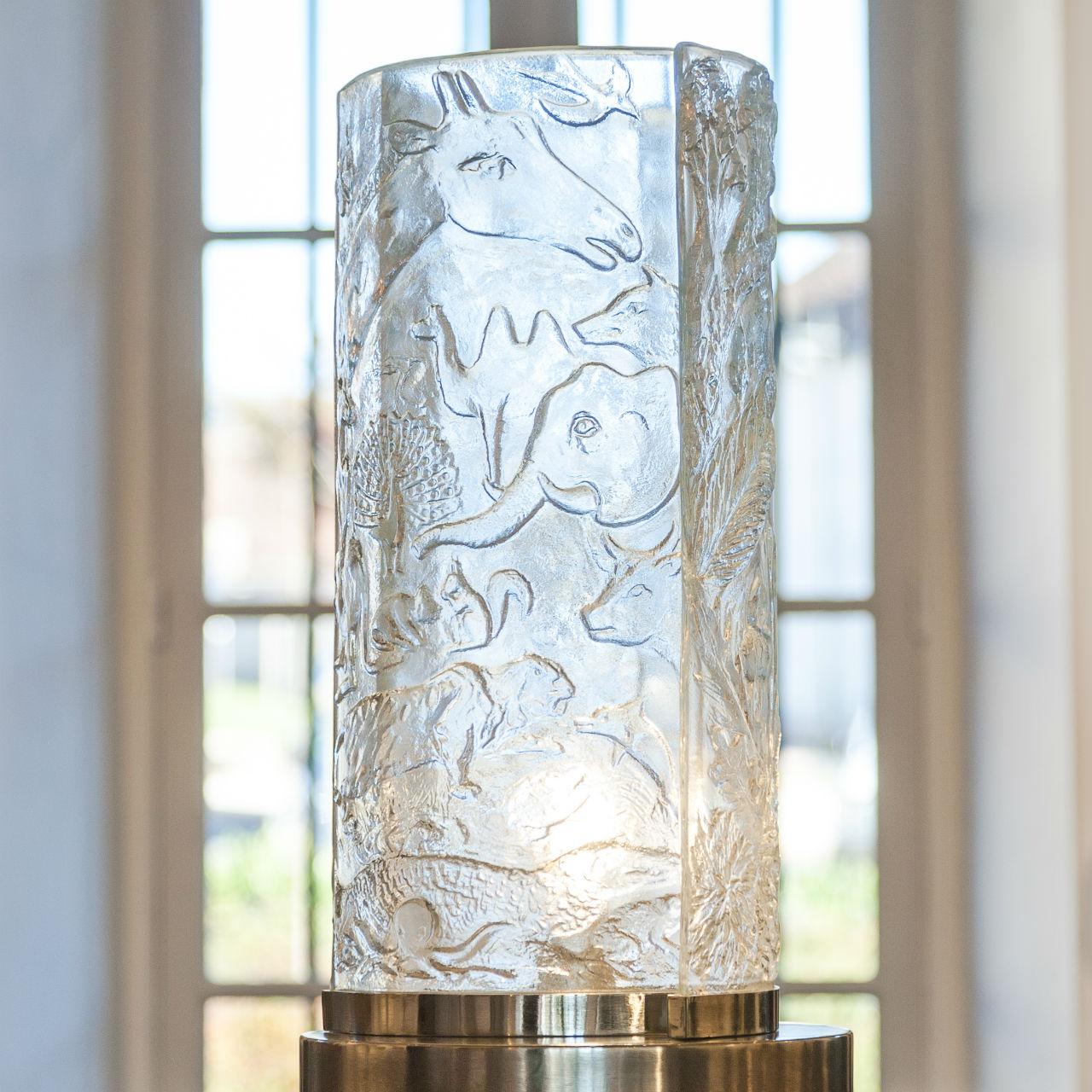Lampe Trois règnes - Règne animal - par Arthylé by Natacha MONDON & Eric PIERRE