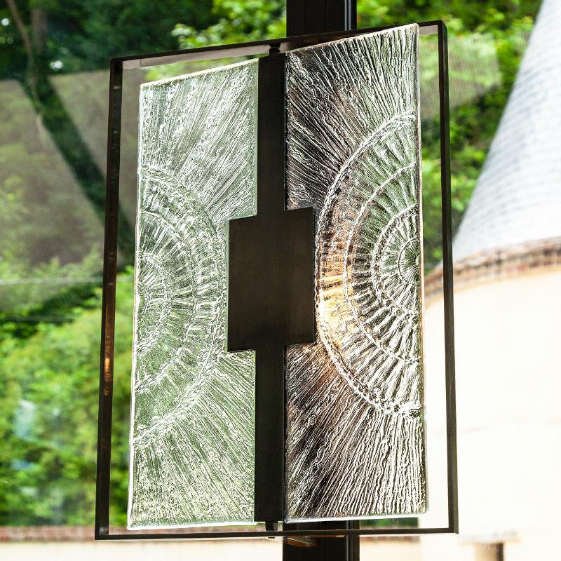 Applique Black _ Light - rectangulaire - Arthylé by Natacha MONDON _ Eric PIERRE
