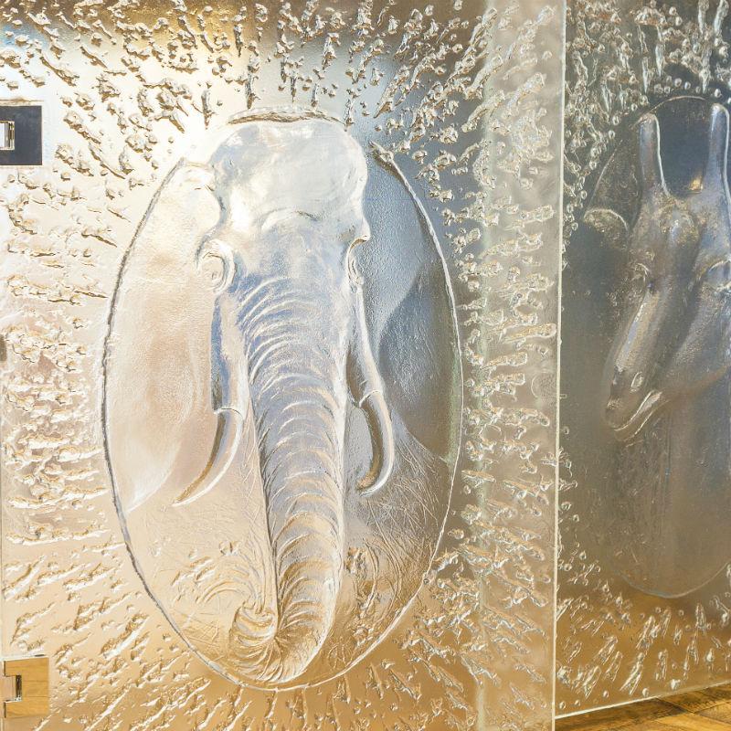 Portes Eléphant et Girafe - Arthylé by Natacha MONDON _ Eric PIERRE